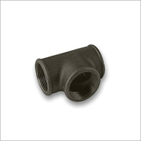 Tee (Equal) Black Malleable Iron Pipe Fitting BSP 1""