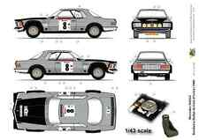 [FFSMC Productions] Decals 1/43 Mercedes 500 SLC Bandama (Cote d'Ivoire) 1980