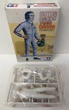 Maquette Figurine Motor Racing Team Driver Pilote kit - Tamiya 1201 1:12° Neuf