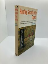 """1964 1st Edition """"Hunting Secrets Of The Experts"""" edited by Vlad Evanoff"""