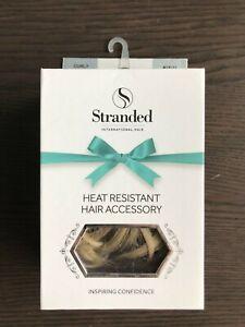 Stranded International Hair - Hair Piece - Curly Scrunchie - 18/22 Iris