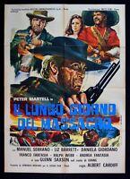 M140 Manifesto 2F El Largo Giorno De Massacro Western Peter Martell Serrano