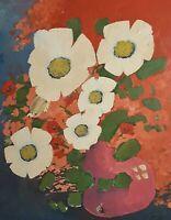Charles MEIRE XX - Blumen mit weißen Blüten