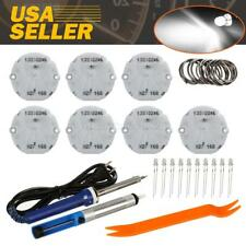 7PCS x27 168 Stepper Motors speedometer REPAIR KIT instrument gauge LED bulbs