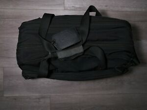 """Briggs & Riley 20"""" carry on duffel weekend overnight cabin bag black w/ suitor"""