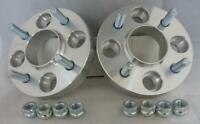 4x108 25mm ALLOY Hubcentric Wheel Spacers 1 Pair to fit Ford Fiesta Mk6 Mk7