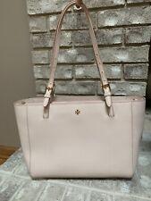 Tory Burch Emerson Small Buckle Tote Purse Handbag (10005972) Blush - Light Pink