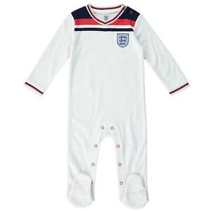 England Football 1982 Retro Baby Sleepsuit | 2021