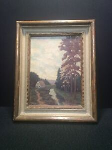 L. A. Kebbon Canadian Inpressionist Oil on Canvas Painting