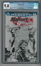 Harley Quinn #1 CGC 9.8 NM/M Comic Pop Sketch Edition Flash #123 Homage 10/16