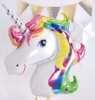 UNICORN FOIL BALLOON BALLOONS SMALL FANTASY HORSE LOLLY/LOOT BIRTHDAY PARTY