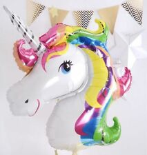UNICORN FOIL BALLOON BALLOONS SMALL FANTASY HORSE LOLLY/LOOT BIRTHDAY PARTY
