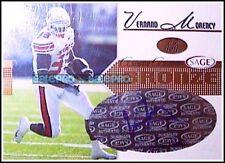 PRESS PASS 2004 VERNAND MORENCY NFL RC * BRONZE * RARE ROOKIE AUTOGRAPH /500