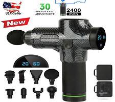 30 Speed Massage Gun Handheld Percussion Deep Tissue Muscle Body Massager