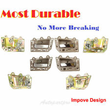 DS291-NS Inside Door Handle Beige Chrome Bolt Set For 05-11 Jeep Grand Cherokee