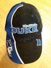 DUKE BLUE DEVILS HAT - 100% cotton - adjustable