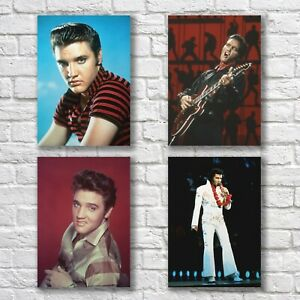 Elvis Presley Poster A4 Set HQ Print Only You Home Wall Decor