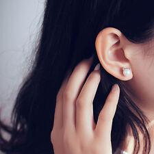 Korea Style Chic Pearl Cat Kitten Head Ear Stud Party Earring Fashion Jewelry MI