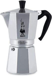 Bialetti 12 Cup Moka Express Oceana Stovetop Espresso Coffee Maker Pot Latte