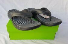 New Men's Crocs Reviva Flip Expresso & Walnut