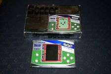 GAKKEN SOCCER CONSOLE RARE LCD GAME WATCH MADE IN JAPAN BOX