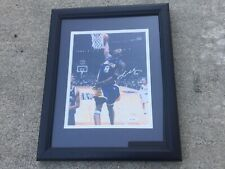 KOBE BRYANT Signed 8x10 Framed Photo Upper Deck UD Authenticated UDA COA a