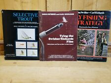 Selective Trout-Fly Fishing Strategy-Tying the Swisher/Richards Flies Lot of 3