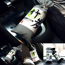 Black Grey Bag Bamboo Charcoal Activated Carbon Air Freshener for Car Auto BF