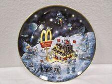 "Franklin Mint - McDonalds - "" Golden Dreams "" Plate"