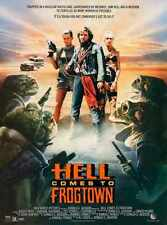 Hell Comes To Frogtown Poster 01 Metal Sign A4 12x8 Aluminium