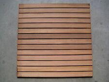 Holzfliesen Bangkirai 100x100cm 14-lattig 27,95 €/St. Hartholz Terrassenbelag