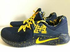 NIKE FREE TR 8 MICHIGAN COLLEGE EDITION TRAINING SHOES ( AR0419 400 ) SIZE 10