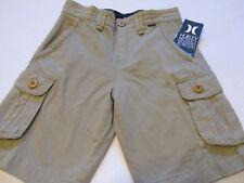 HURLEY Tan Cargo Shorts sz  7/23  NWT $45.00