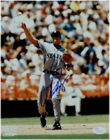 Alex Rodriguez Signed Autographed 8X10 Photo Mariners Throwing Ball Mariners JSA