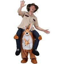 Carry Me Kangaroo Ride On Piggy Back Mascot Fancy Dress Costume Australian AU