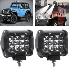 36W 12 LED Flood Work Light IP67 Off-road Lamp for Truck SUV Jeep Spot Lights