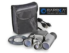 Barska POINT 'n VIEW 10x25mm CAMERA BINOCULARS w/Case *MAGNIFY & CAPTURE Images
