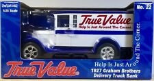 1927 GRAHAM BROTHER'S DELIVERY TRUCK BANK, TRUE VALUE, MINT!