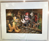 Disney Darren Wilson Mickey Needs Key Pirates Caribbean Art Print More Sizes