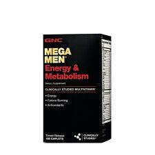 GNC Mega Men Energy & Metabolism Multivitamins - 180 Count