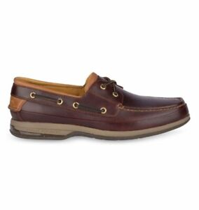 Sperry Gold Boat Amaretto Shoe Casual Loafers Mens Stain Water Resistant Leather