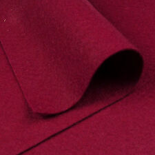 Woolfelt Garnet Red ~ 22cm x 90cm / felt fabric vintage Christmas heart dark