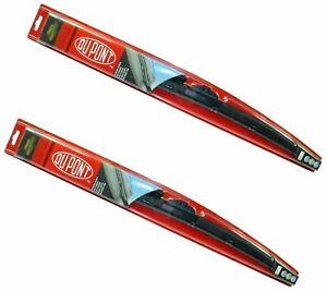 """Genuine DUPONT Hybrid Wiper Blades Set 609mm/24"""" + 711mm/28"""" For Tesla Model S"""
