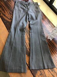 Rachel Zoe Designer Jeans Grey Black Denim Trouser Pant Side Stripe Detail Sz 26