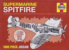 Haynes MOTORE Supermarine Spitfire 1000 Pezzi Jigsaw Puzzle Nuovo di Zecca
