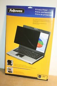 """FELLOWES 4801601 24.0""""/609.6mm Privacy Filter for Laptop and Flat Screen Monitor"""