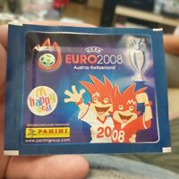 EURO 2008 MCDONALDS PANINI  one pack from photo new mint