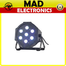 RGB LED PAR Stage Light Disco DJ Club Effect Lighting UP Lighter DMX AU 7 x 4W