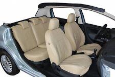 Volkswagen Caddy II und III Maßgefertigte Kunstleder Sitzbezüge in Beige