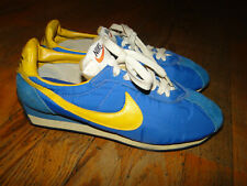 Vintage RARE  Nike Waffle Running Runners Shoes Original  Made in japan Sz.9.5